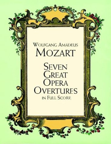 Seven Great Opera Overtures in Full Score  N/A edition cover