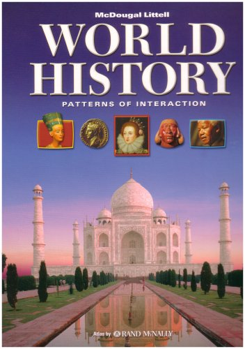World History: Patterns of Interaction : Pupil's Edition 1st (Large Type) 9780618187744 Front Cover