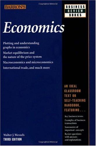Economics  3rd 2000 9780764112744 Front Cover