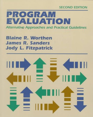 Program Evaluation Alternative Approaches and Practical Guidelines 2nd 1997 edition cover