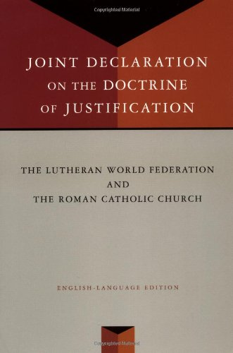 Joint Declaration on the Doctrine of Justification  2000 edition cover