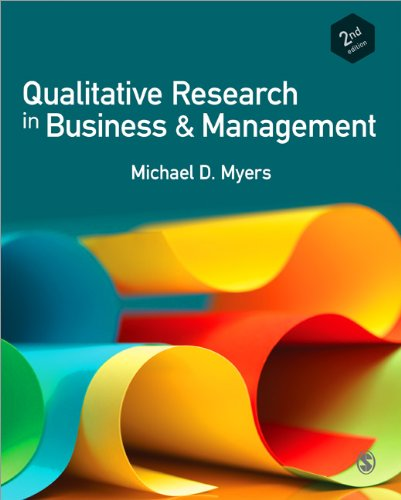 Qualitative Research in Business and Management  2nd 2013 edition cover