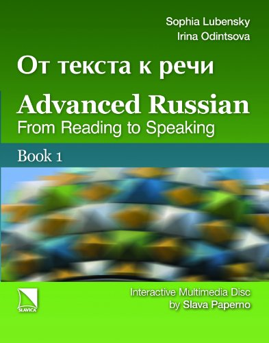 Advanced Russian From Reading to Speaking  2010 edition cover