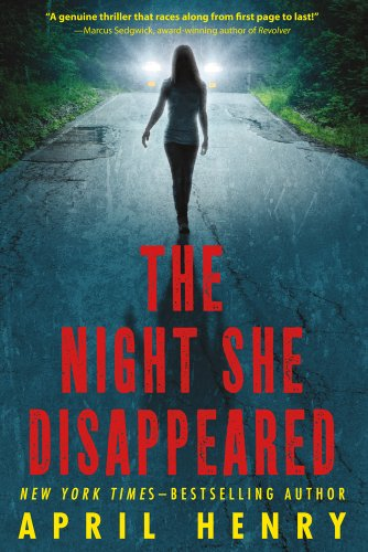 Night She Disappeared   2013 edition cover