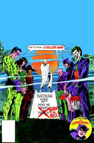 Strange Deaths of Batman   2009 9781401221744 Front Cover
