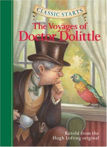 Voyages of Doctor Dolittle   2008 9781402745744 Front Cover
