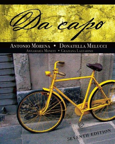 Da Capo  7th 2011 edition cover