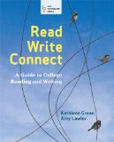 Read, Write, Connect A Guide to College Reading and Writing  2014 edition cover