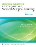Textbook of Medical-Surgical Nursing  13th 2014 edition cover