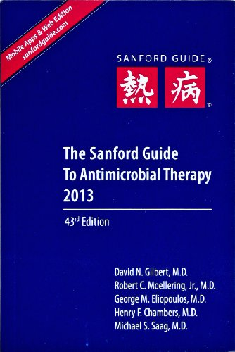 The Sanford Guide to Antimicrobial Therapy 2013:   2013 edition cover
