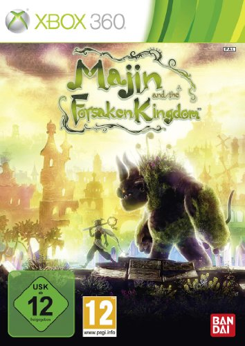Majin and the Forsaken Kingdom Xbox 360 artwork