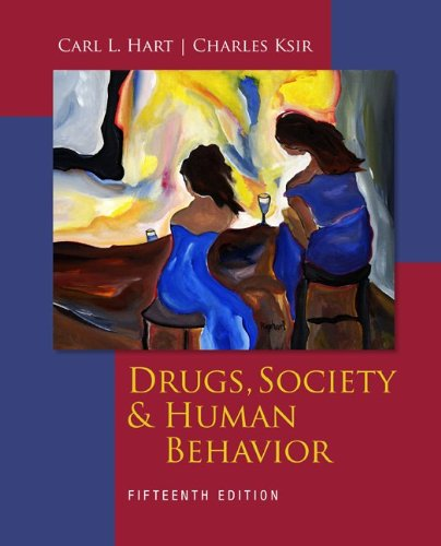 Drugs, Society and Human Behavior  15th 2013 edition cover