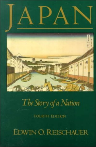 Japan The Story of a Nation 4th 1990 (Revised) edition cover