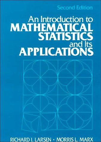 Introduction to Mathematical Statistics and Its Applications  2nd 1986 edition cover