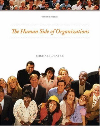 Human Side of Organizations  10th 2009 edition cover