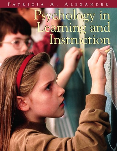 Psychology in Learning and Instruction   2006 9780139748745 Front Cover