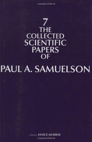 Collected Scientific Papers of Paul Samuelson   2011 9780262015745 Front Cover
