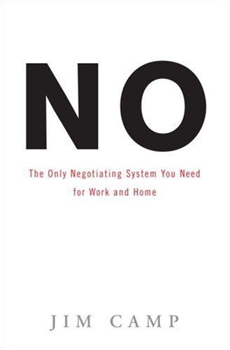 No The Only Negotiating System You Need for Work and Home  2007 edition cover