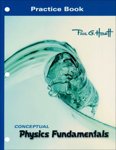 Practice Book for Conceptual Physics Fundamentals   2008 edition cover