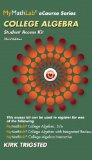 College Algebra  3rd 2015 edition cover