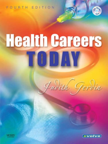 Health Careers Today  4th 2007 (Revised) edition cover