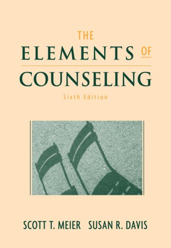 Elements of Counseling  6th 2008 (Revised) edition cover