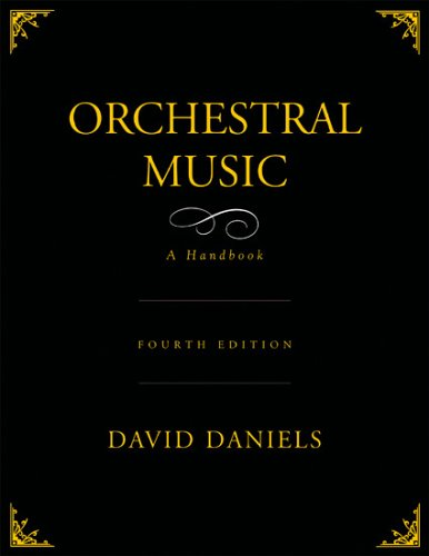 Orchestral Music  4th 2005 (Revised) edition cover