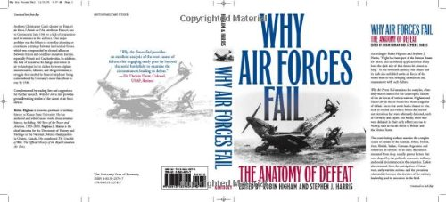 Why Air Forces Fail The Anatomy of Defeat  2005 edition cover