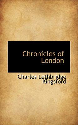 Chronicles of London  N/A 9781116753745 Front Cover