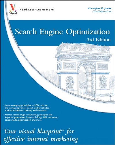 Search Engine Optimization Your Visual Blueprint for Effective Internet Marketing 3rd 2013 edition cover