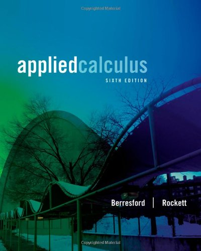 Applied Calculus  6th 2013 edition cover