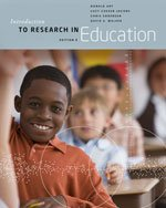 Introduction to Research in Education  9th 2014 edition cover
