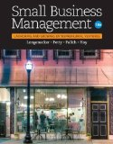 Small Business Management: Launching & Growing Entrepreneurial Ventures  2016 9781305405745 Front Cover