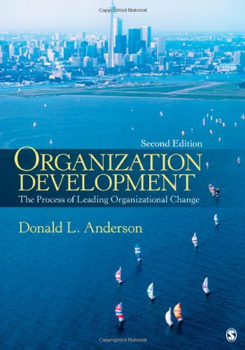Organization Development The Process of Leading Organizational Change 2nd 2012 edition cover