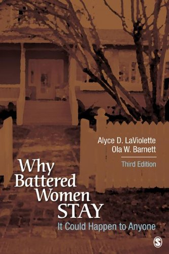 It Could Happen to Anyone Why Battered Women Stay 3rd 2014 edition cover