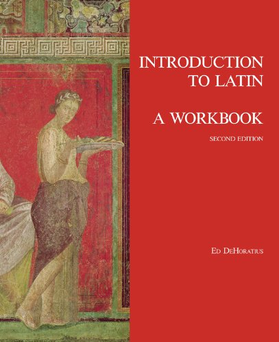 Introduction to Latin: a Workbook  2nd 2013 (Revised) edition cover