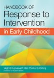 Handbook of Response to Intervention in Early Childhood   2013 edition cover