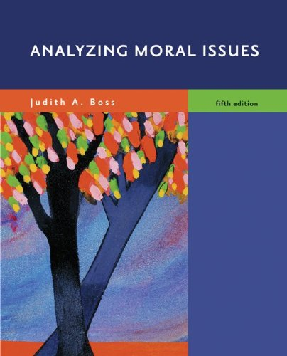 Analyzing Moral Issues  5th 2010 edition cover