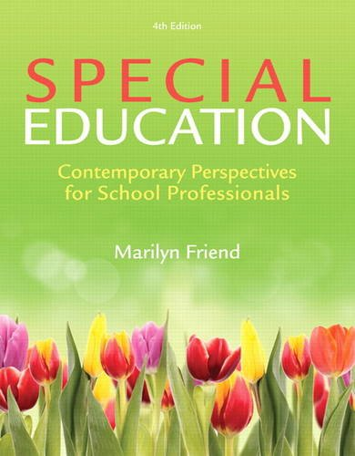 Special Education: Contemporary Perspectives for School Professionals N/A 9780132836746 Front Cover