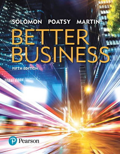Better Business:   2017 9780134522746 Front Cover