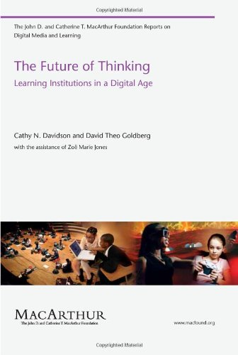 Future of Thinking Learning Institutions in a Digital Age  2010 edition cover