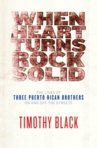 When a Heart Turns Rock Solid The Lives of Three Puerto Rican Brothers on and off the Streets  2009 edition cover