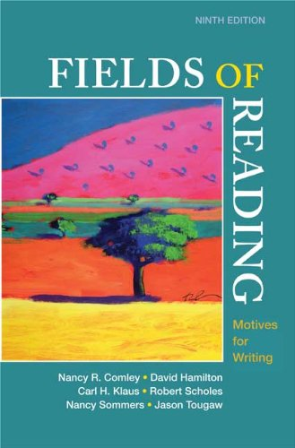 Fields of Reading Motives for Writing 9th edition cover