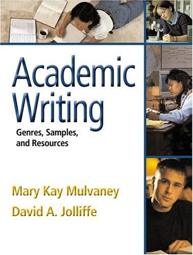 Academic Writing Genres, Samples, and Resources  2005 edition cover