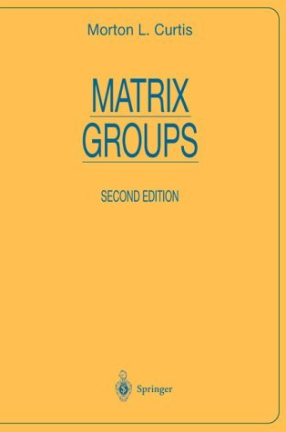 Matrix Groups  2nd 1984 (Revised) edition cover