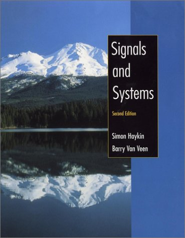 Signals and Systems  2nd 2003 (Revised) edition cover