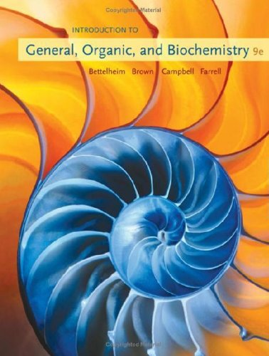Student Solutions Manual for Whitten/Davis/Peck/Stanley's Chemistry, 9th  9th 2010 edition cover