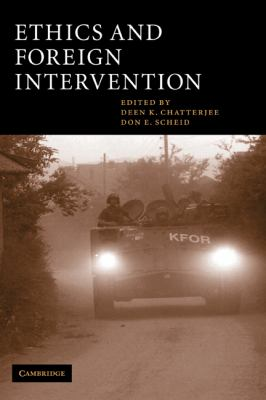 Ethics and Foreign Intervention   2003 9780521810746 Front Cover
