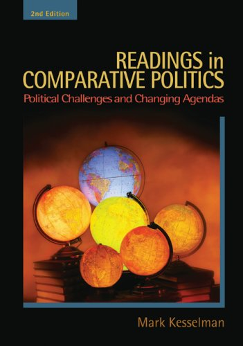 Readings in Comparative Politics Political Challenges and Changing Agendas 2nd 2010 (Revised) 9780547212746 Front Cover