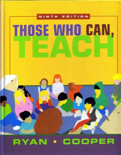 Those Who Can, Teach 9th 2001 edition cover